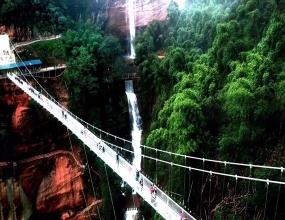 赤水戈千崖玻璃桥项目
