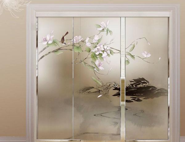 压花艺术玻璃