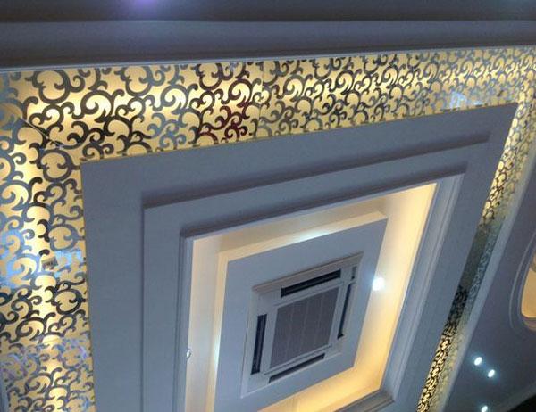 天花吊顶艺术玻璃